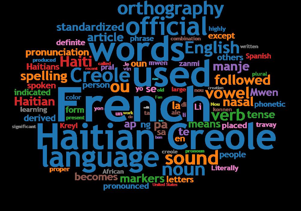 Understanding the Creole Language